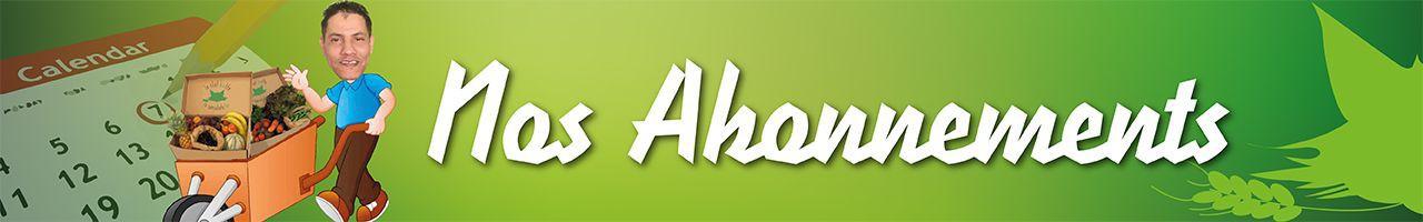 Nos abonnements pour les bottes de fruits et légumes biologiques