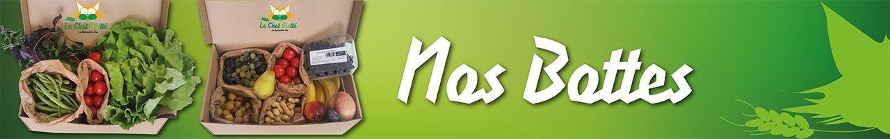 Paniers de fruits et légumes biologiques - Paniers cadeaux