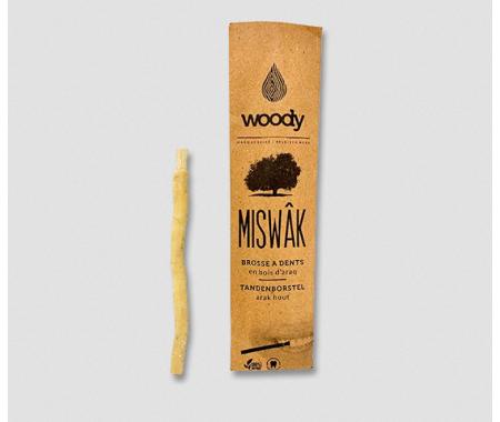 Brosse à dent en bois d'araq